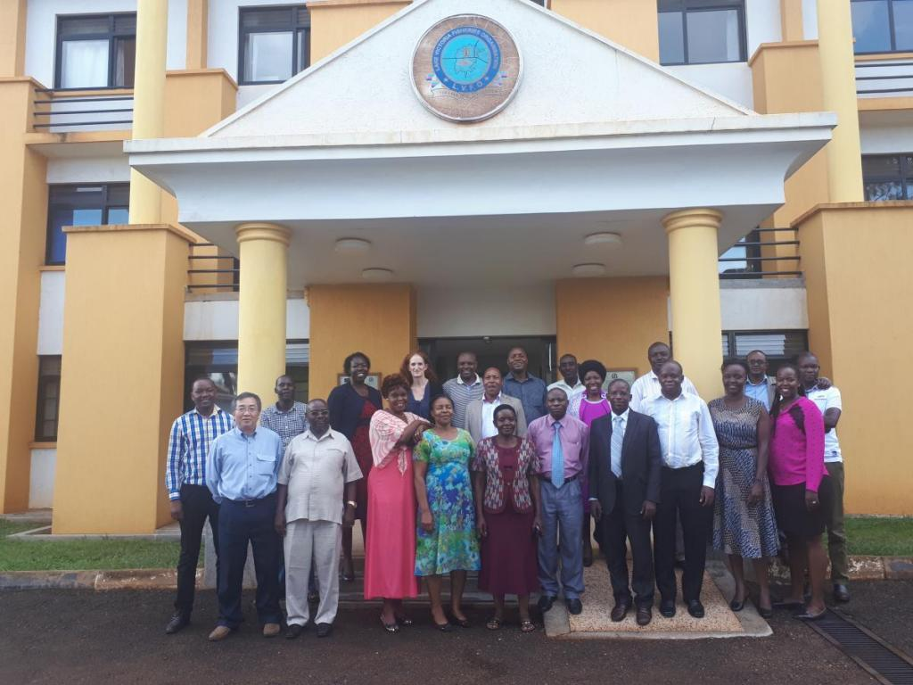 Participants of the workshop in a group photo